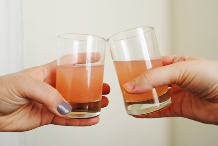 Gin + Quince Cocktail