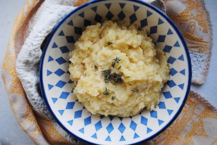 Buttery Celeriac Potato Mash