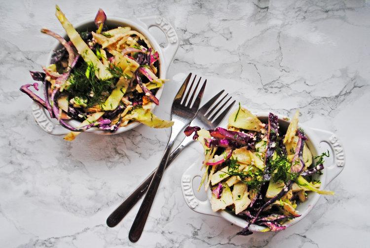 Greek Cabbage Slaw