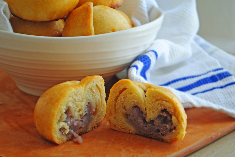 Purple Potato Knishes