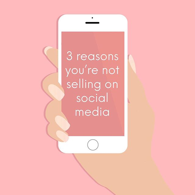 "3 reasons why you're NOT selling on social media 👇🏻 ⠀⠀ If you're a #smallbusiness social media can be your best friend or your worst enemy. ⠀⠀ Just because you're on social media doesn't mean sales will come automatically. ⠀⠀ My job as a social media coach is to help you guys build a social media strategy that works WITH and FOR you. ⠀⠀ Here are 3 reasons why you might not be selling: ⠀⠀ 𝟭. 𝗬𝗼𝘂'𝗿𝗲 𝗻𝗼𝘁 𝗽𝗼𝘀𝗶𝘁𝗶𝗼𝗻𝗶𝗻𝗴 𝘆𝗼𝘂𝗿𝘀𝗲𝗹𝗳 𝗮𝘀 𝗮𝗻 𝗲𝘅𝗽𝗲𝗿𝘁. ⠀⠀ Your content should always be serving a purpose. The era of posting ""filler"" posts is over. Your content needs to have VALUE. ⠀⠀ 𝟮. 𝗬𝗼𝘂𝗿 𝗳𝗼𝗹𝗹𝗼𝘄𝗲𝗿𝘀 𝗮𝗿𝗲 𝗻𝗼𝘁 𝘆𝗼𝘂𝗿 𝗰𝗹𝗶𝗲𝗻𝘁𝘀. ⠀⠀ Check your following list and see what percentage of your followers are peers in your community, family and friends, and potential clients/customers. ⠀⠀ Chances are you have waaay more of the first to which means you need to shift your content and engagement strategy. ⠀⠀ 𝟯. 𝗬𝗼𝘂'𝗿𝗲 𝗻𝗼𝘁 𝗵𝗶𝗴𝗵𝗹𝗶𝗴𝗵𝘁𝗶𝗻𝗴 𝘁𝗵𝗲 𝗲𝗺𝗼𝘁𝗶𝗼𝗻𝗮𝗹 𝗯𝗲𝗻𝗲𝗳𝗶𝘁𝘀 𝗼𝗳 𝘆𝗼𝘂𝗿 𝗽𝗿𝗼𝗱𝘂𝗰𝘁/𝘀𝗲𝗿𝘃𝗶𝗰𝗲. ⠀⠀ Most purchases are emotional purchases. ⠀⠀ ""This skin cream will help me feel confident without makeup"" ⠀⠀ ""This new website will help me see my brand as a business"" ⠀⠀ ""This painting is going to make my house into a home."" ⠀⠀ Underestimating the emotional value of what you do and just focusing on the practical benefits can stop potential clients from seeing themselves buying from your brand. ⠀⠀ If social media feels stressful for you let's see how I can best help. DM me today and let's find out how to make this aspect of your business really work for you. ♡ #soulconnection #brandswithpurpose #heartcentered #socialmedia #smm #girlswhosupportgirls #womensupportwomen #honestcompany #socialmediaqueen #socialmediahelp #workwithlove #ownyourwhy  #womensupportingwomen #communityovercompetition #darlingmovement #womeninbusiness  #creativewomen #theinstagramlab #thenativecreative #savvybusinessowner #theimperfectboss #inspiredwomen #findyourflock  #mycreativebiz #womeninbiz #girlpreneur #thegramgang #thatsdarling #createcultivate"