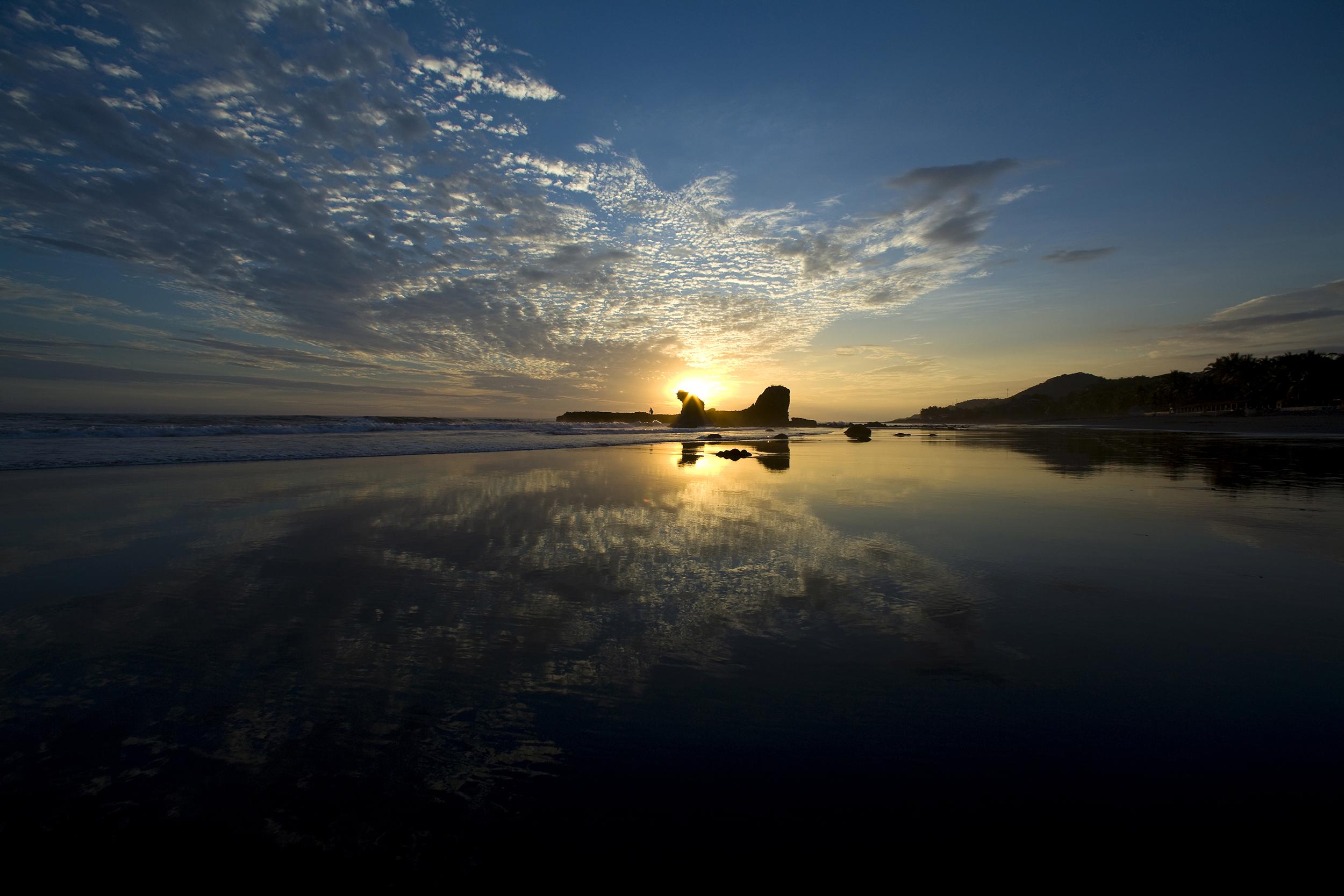 Landscapes - El Tunco Sunset 1.jpg