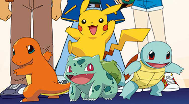 Pokemon is a popular anime series, especially among those within the club