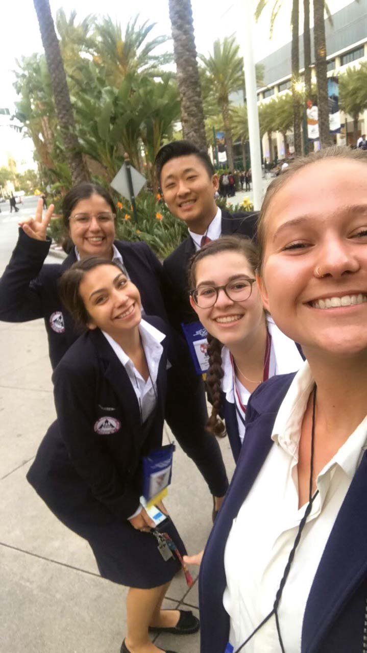 HOSA gives Whittier students leadership opporutnities in the field of medicine, which prepares them for the future.  Photos Courtesy of Whittier'S HOSA CHAPTER