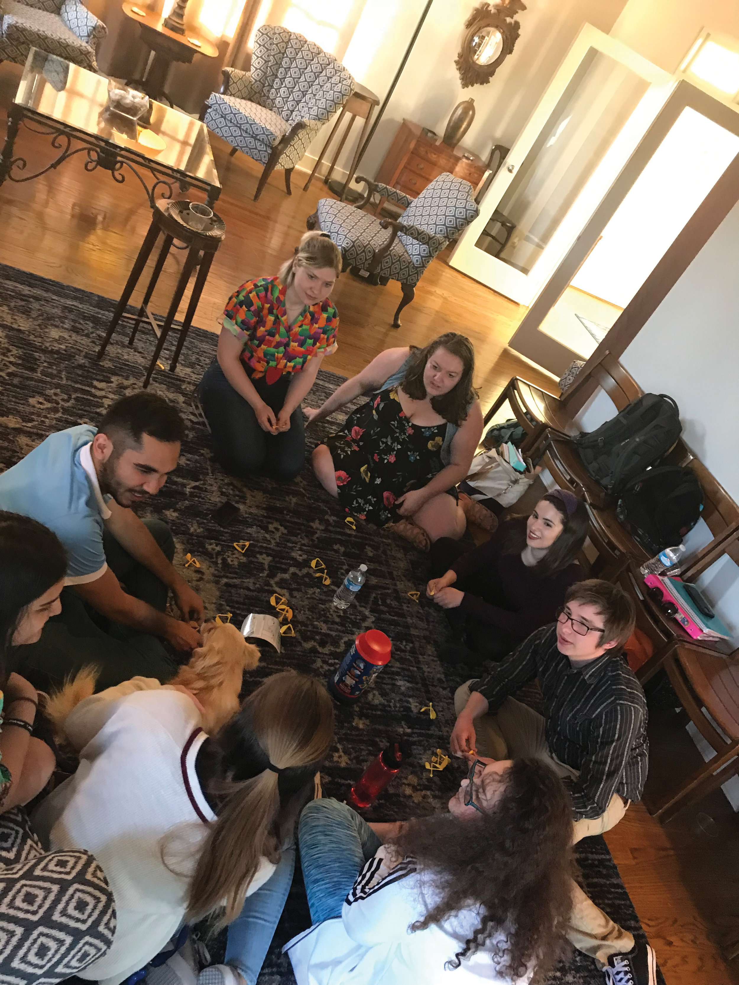 Gonzalez invites students into Hartley House for game nights and other activities to bring together the College community.