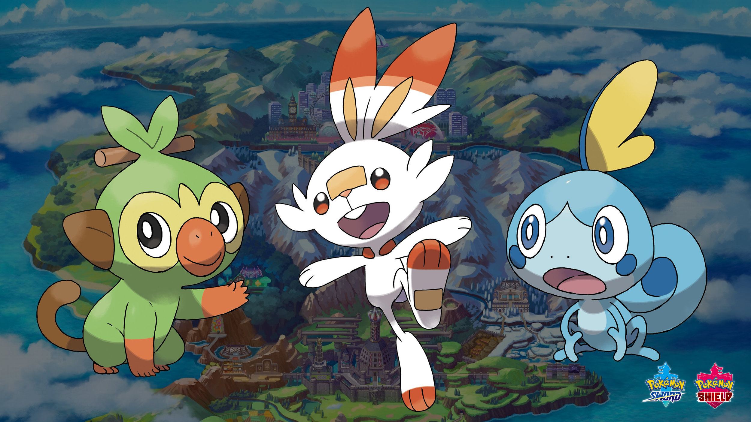 Traditionally, the three Pokémon starters were grass, fire, and water. COURTESY OF  IGN SOUTHEAST ASIA