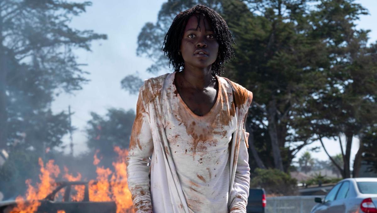 Photos courtesy of  IMDB    Leading Lady Lupita Nyong'o as Adelaide Wilson in  Us  (2019).