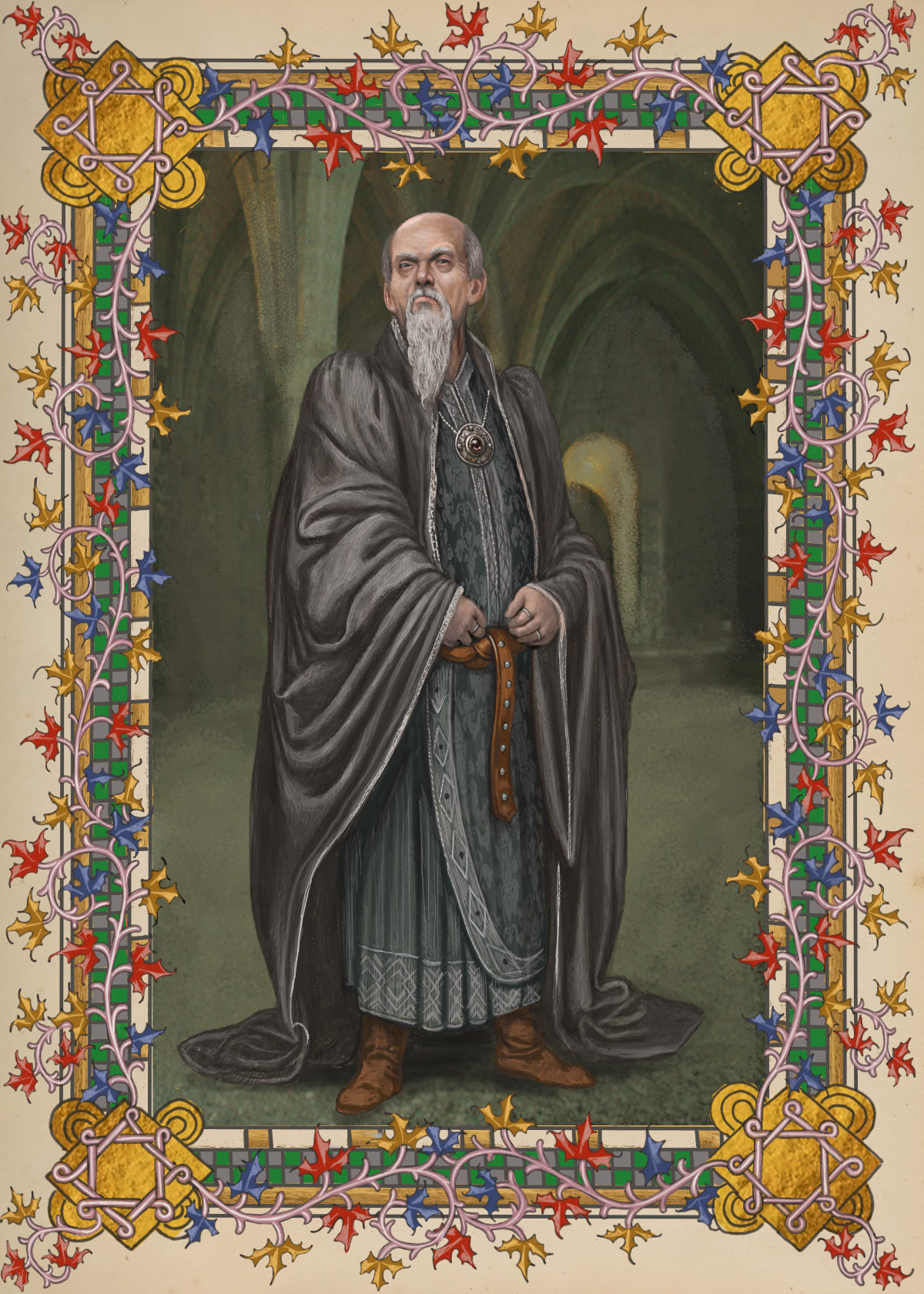 Salazar Slytherin founded the infamous house. COURTESY OF  POTTERMORE