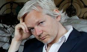 Assange pictured above.  COURTESY OF  iNSIDE NEWS