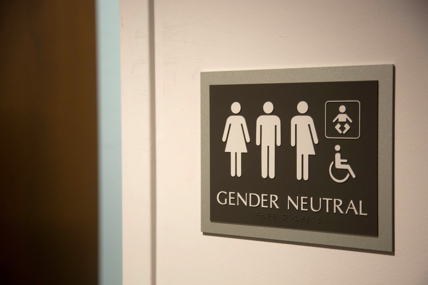 EMERSON LITTLE/ QUAKER CAMPUS    Along with the improvements to the bathrooms, Turner now has gender inclusive bathrooms.