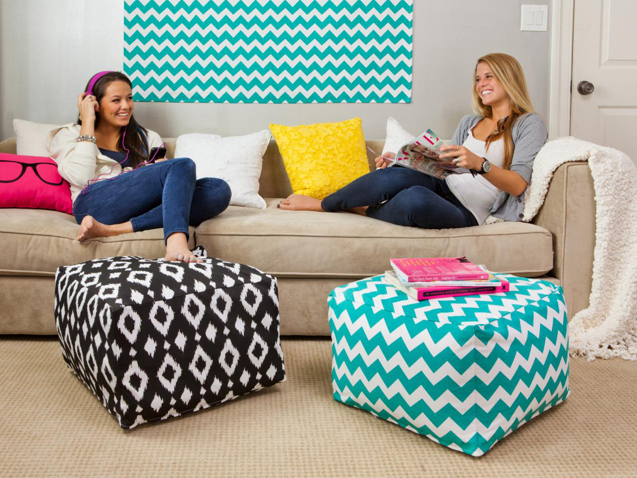 Photo Courtesy of  HGTV    Whether dorming with a friend or a new acquaintance, it is important to be respectful and aware of your shared space.