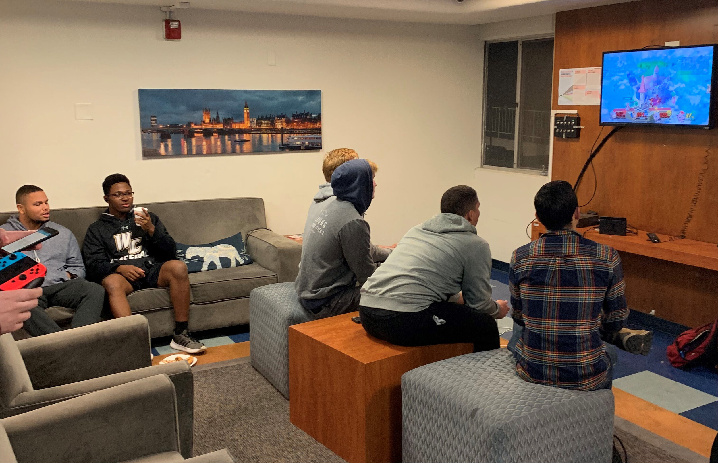 COURTESY OF JOSEPH MELENDEZ   The stresses of college can sometimes be overwhelming, but game nights allow students time to relax and unwind.