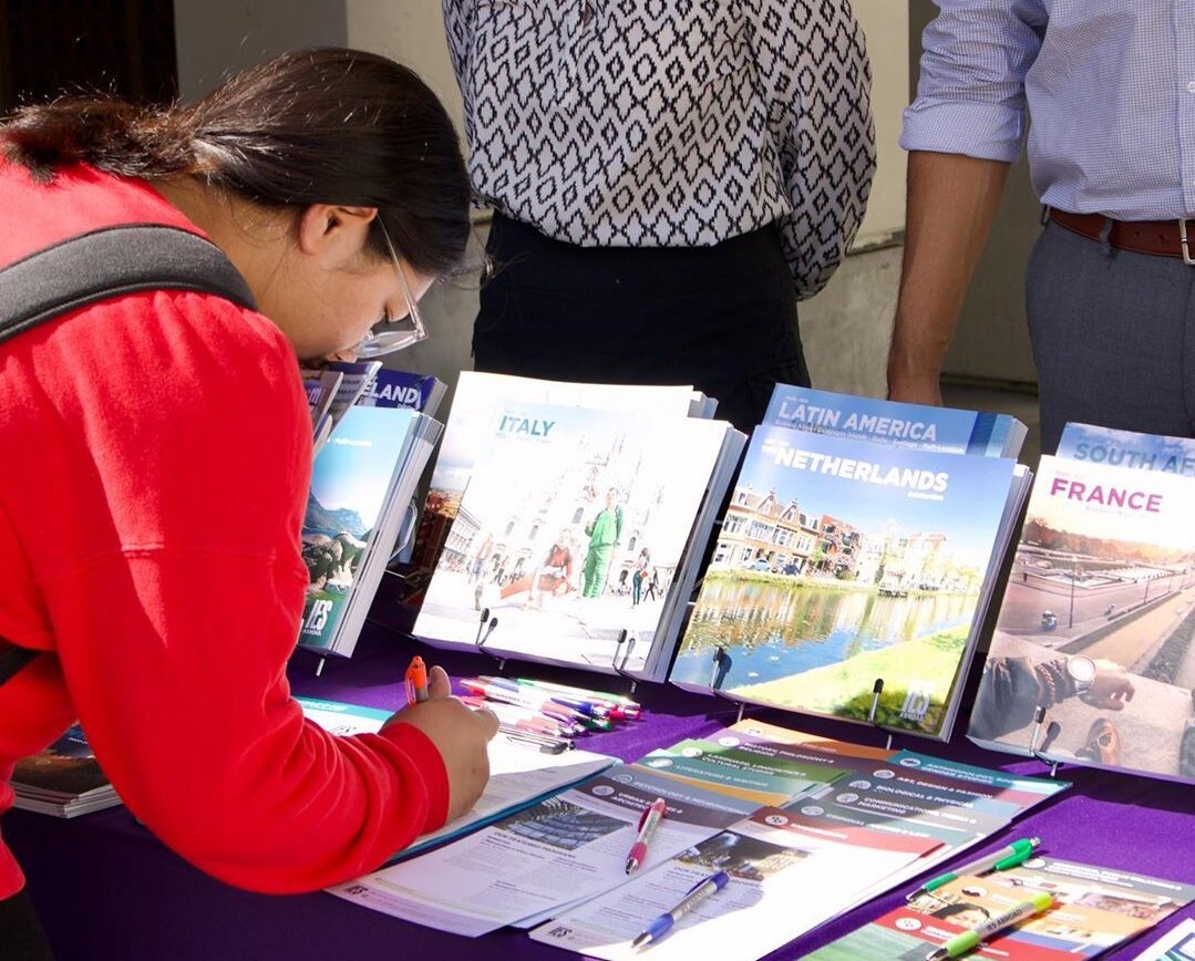 Photo Courtesy of   WC The Rock   The study abroad fair was a great way to learn more about the opportunities to study internationally through Whittier College.