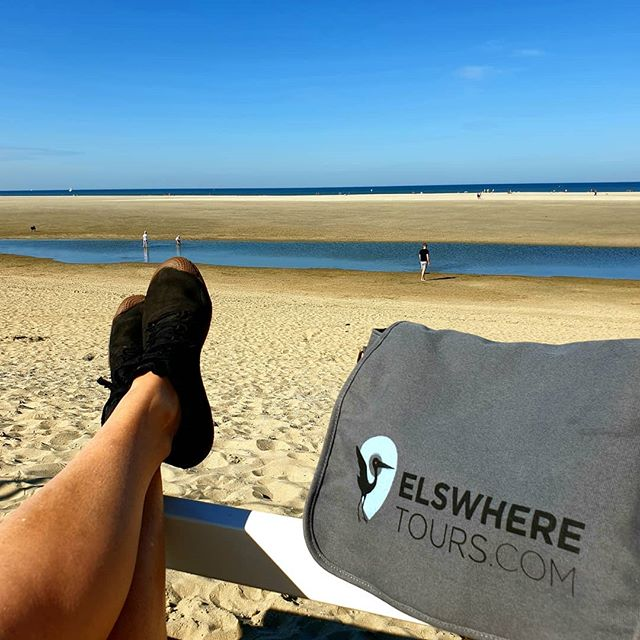 Taking a moment in between tours. Possible in #thehague! Whats your  favourite spot to relax in the city? Join us for a free tour or private tour of The Hague or Scheveningen and we will show you many fabulous options. #indiansummer #thehaguebeach #lahaya #wochenende #privatetourguide #freewalkingtours #ilovenetherlands #ighollandsnapshots #beachtime #strandliebe #weekendvibes✌️ #elswheretours