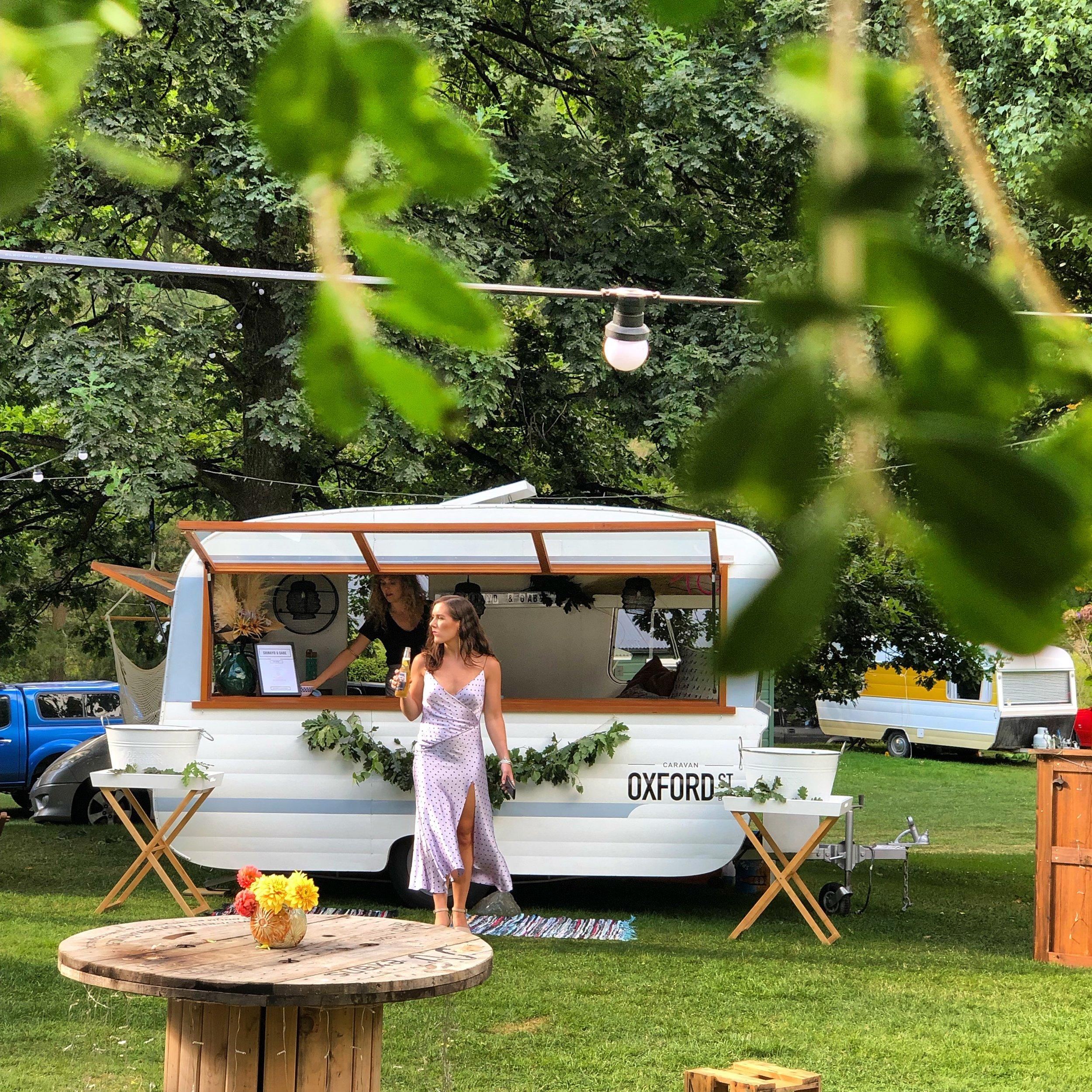 Caravan Bar for hire in Otago, New zealand