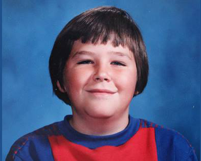 Norm as a young lad....