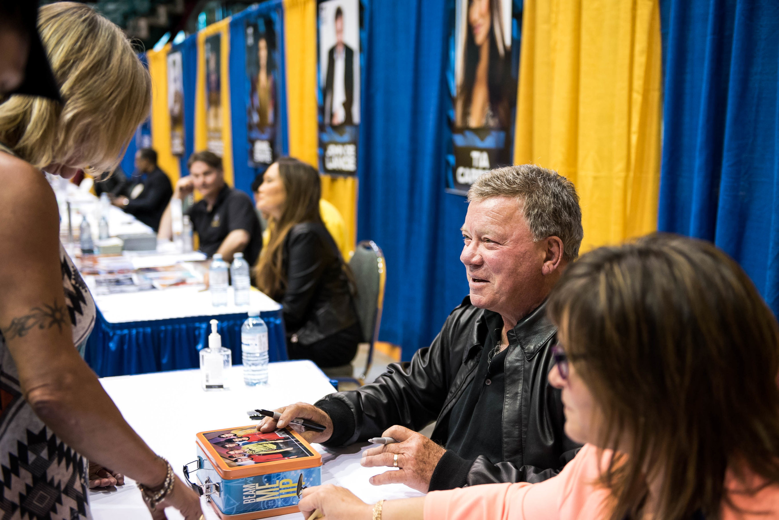submitted photo: William Shatner at the first ever Northern FanCon in 2015. Organizers worked for a year leading up opening the doors of the event