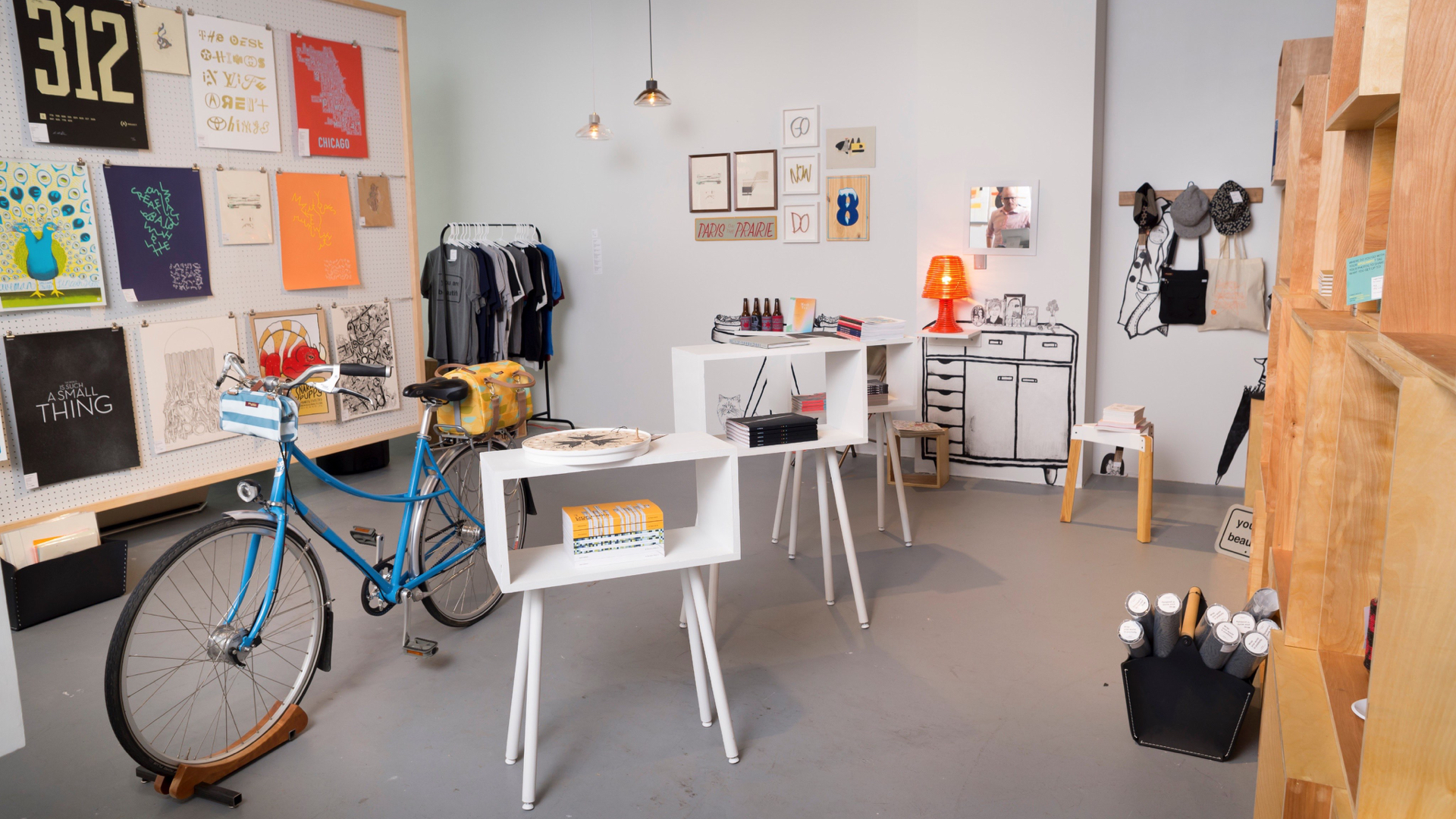 I integratebusiness and beauty,function and curation,first use and future reuse. - Retail DirectorThe Chicago Design Museum Store