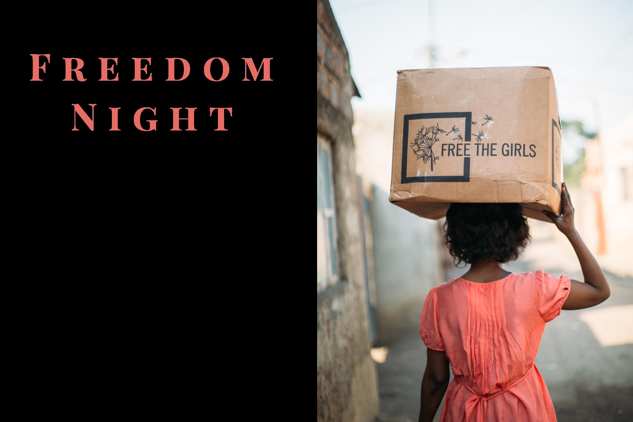 freethegirlsfreedomnight