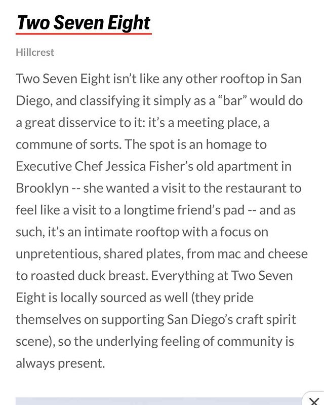Thanks for the love @thrillist ❤️ We love our raised patio. Especially when it's filled with all our friends we have made over the years ✨✨✨✨