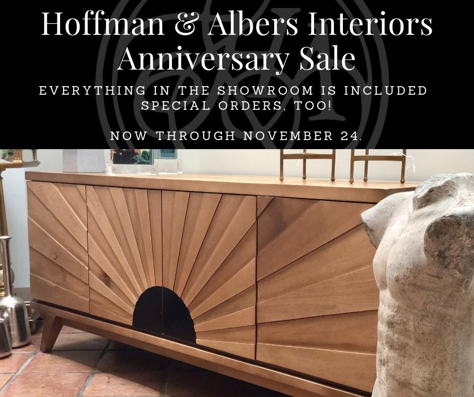 Hoffman & Albers InteriorsAnniversary Sale.jpg