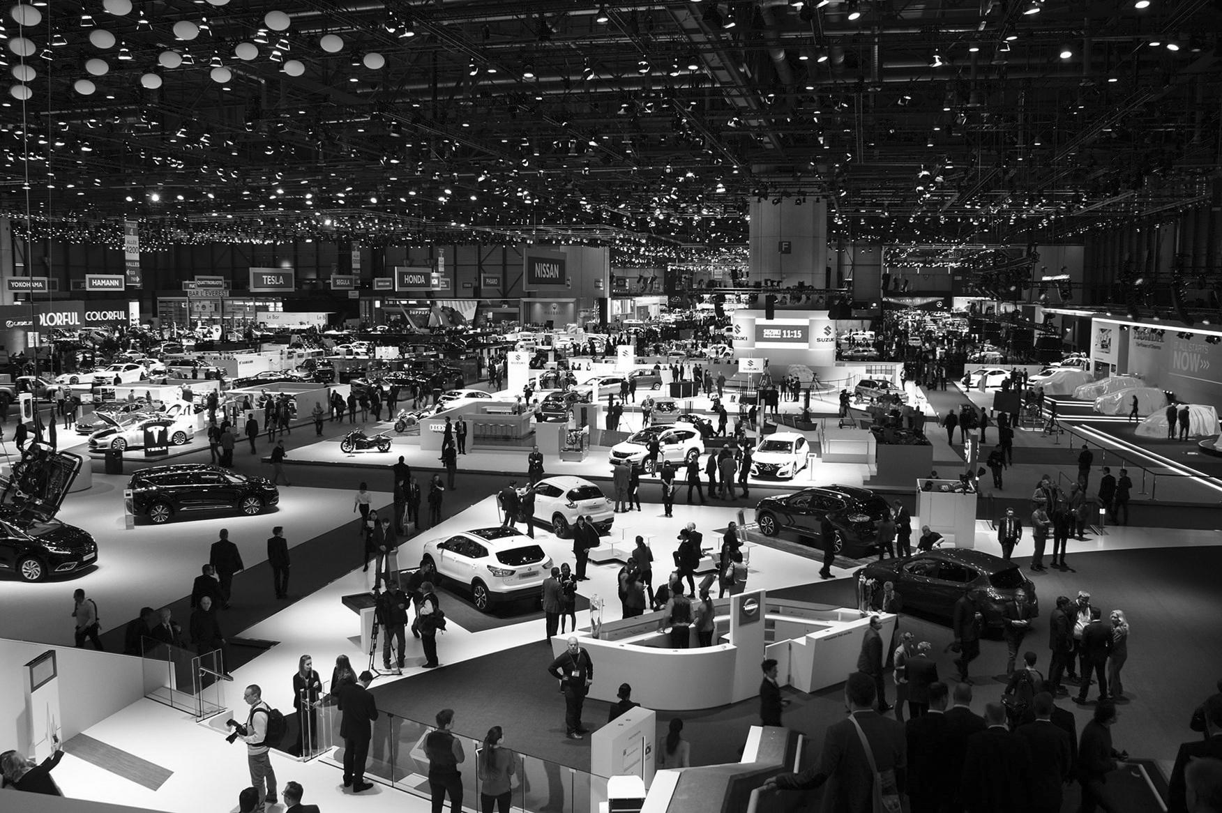 GENEVA International Motor Show 2017 - 9 - 19. March 2017