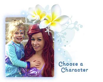 Choose a character ...