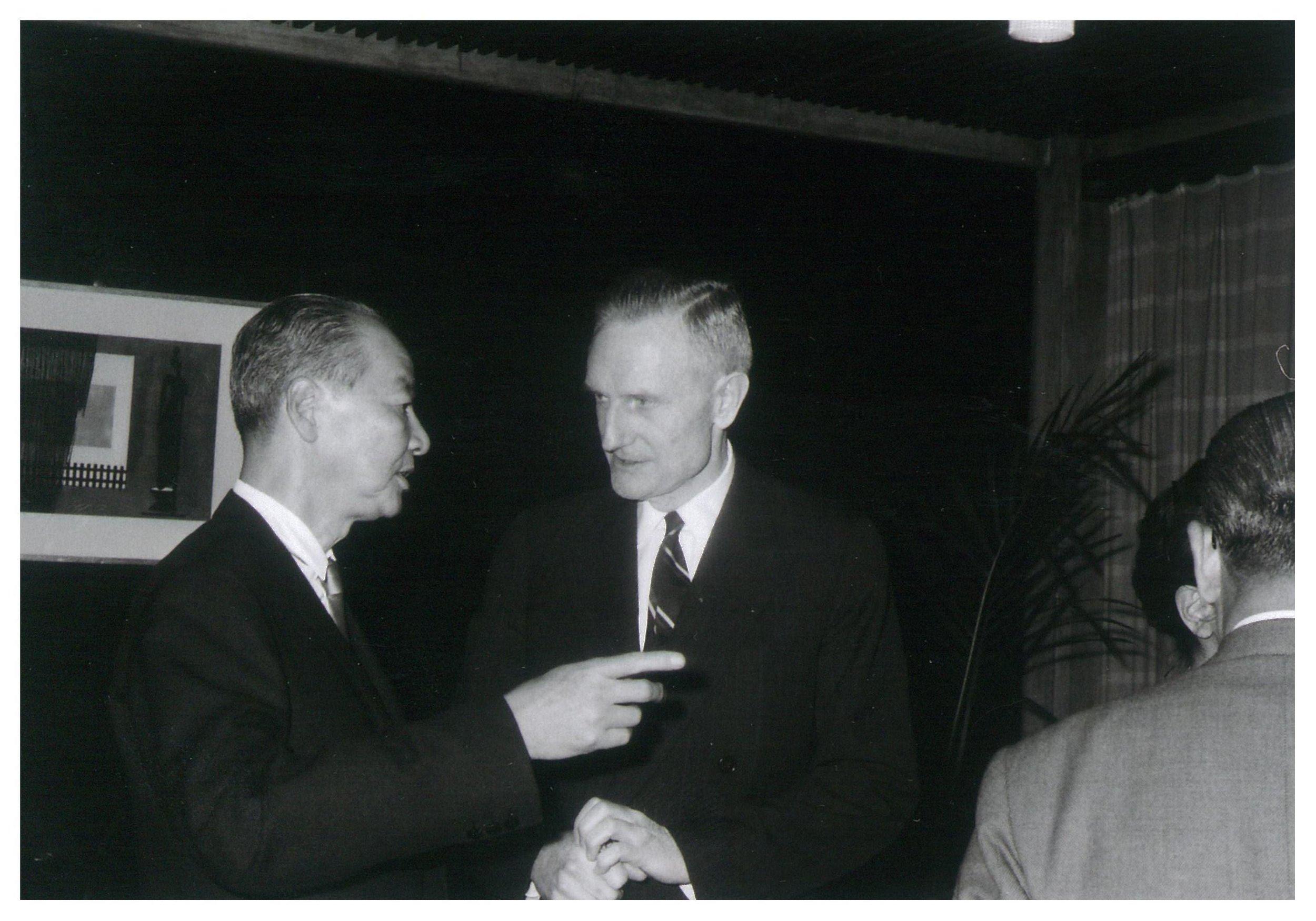 J D Rockefelller III and Matsumoto (1965).jpg