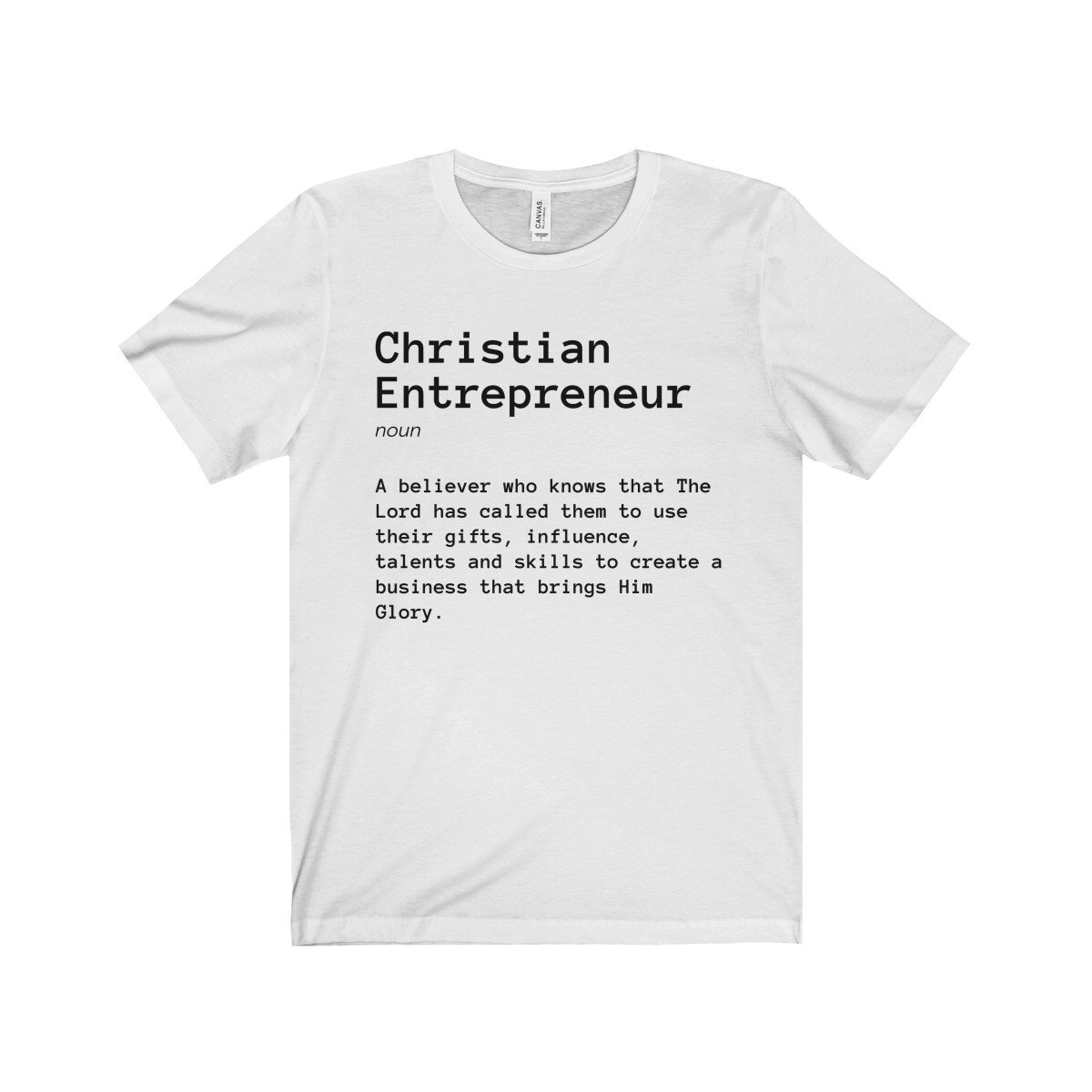 Christian Entrepreneur Shirt