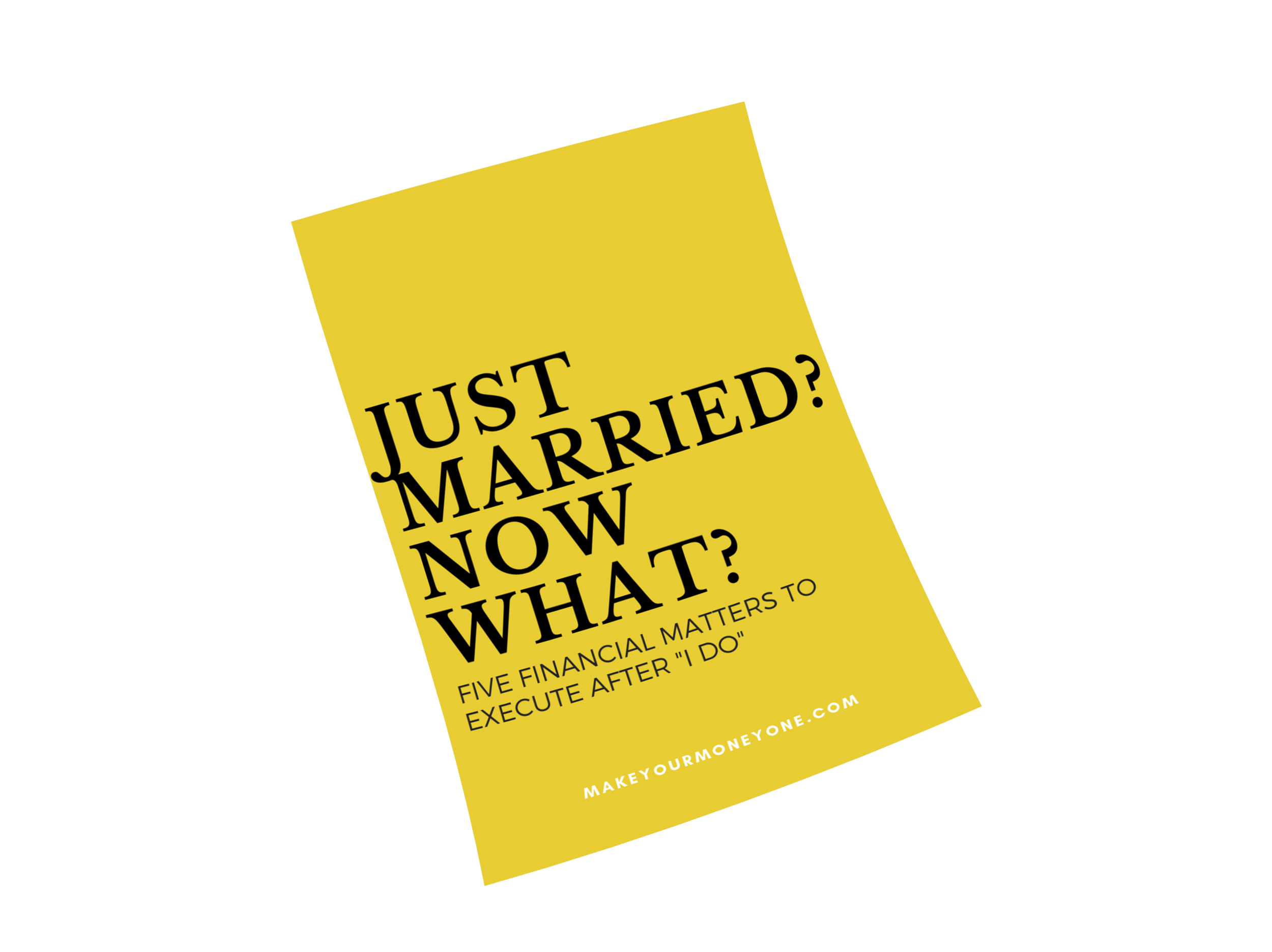 newly married financial checklist