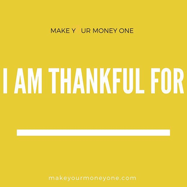 It is my opinion that thankfulness is a conduit for MORE from God. So what's one thing you are thankful for today?