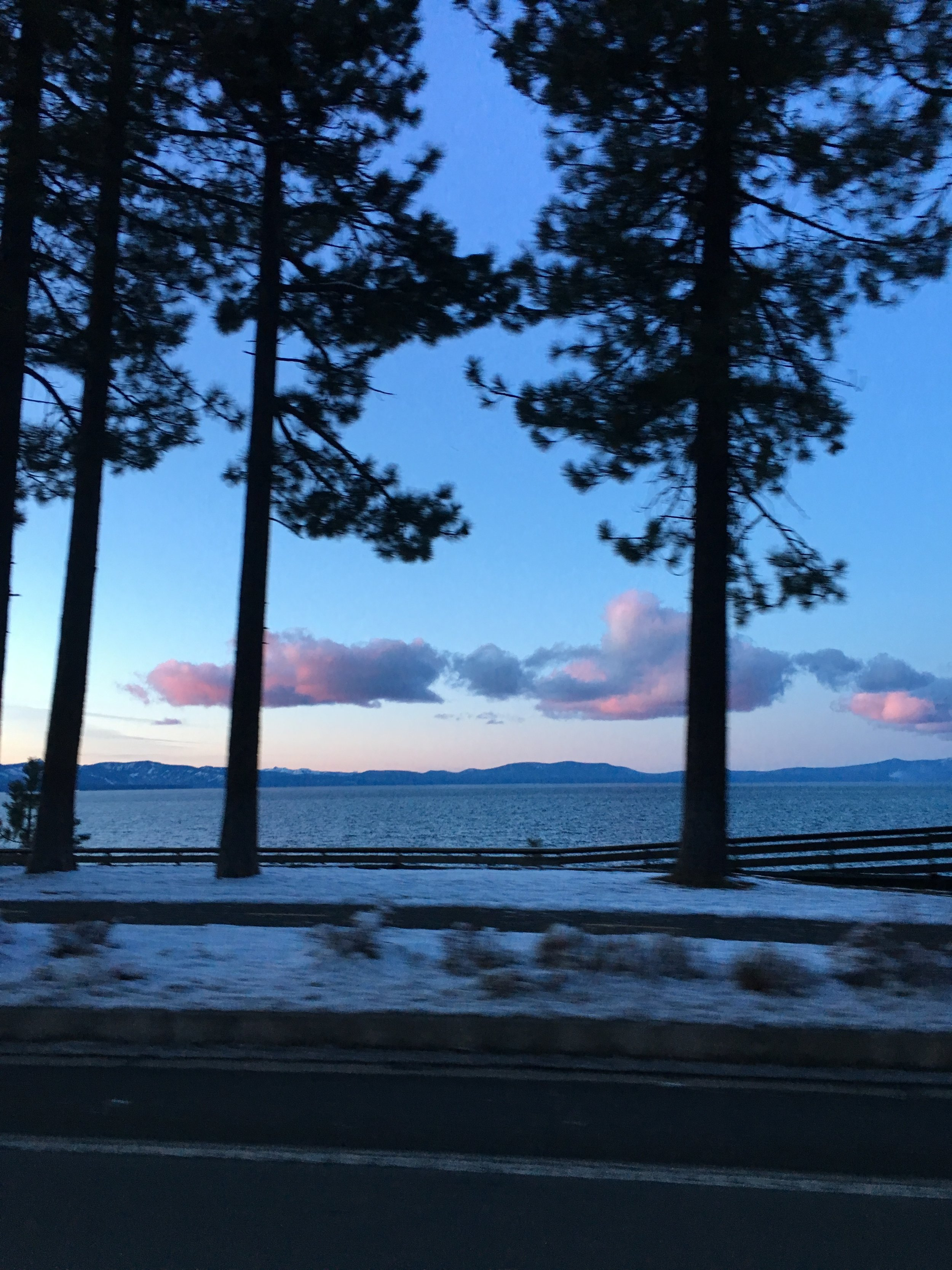 The sunset in South Lake Tahoe, CA | Watson & Walls