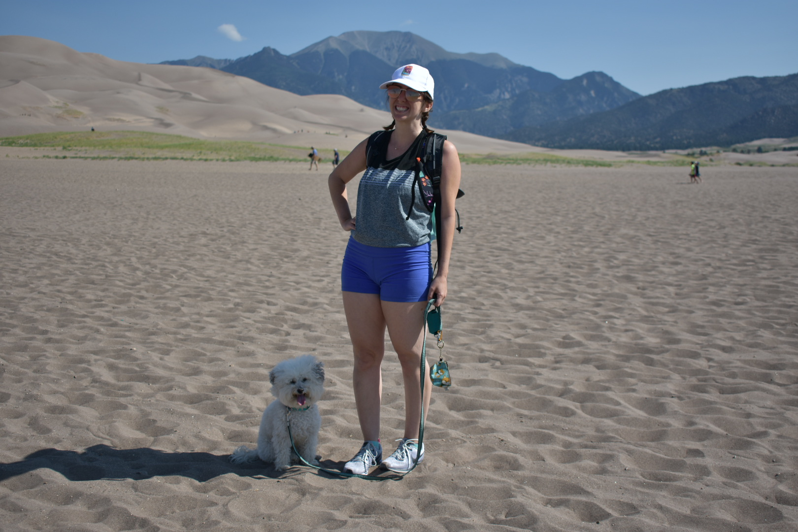 Watson with his mom at Great Sand Dunes National Park, Colorado | Watson & Walls