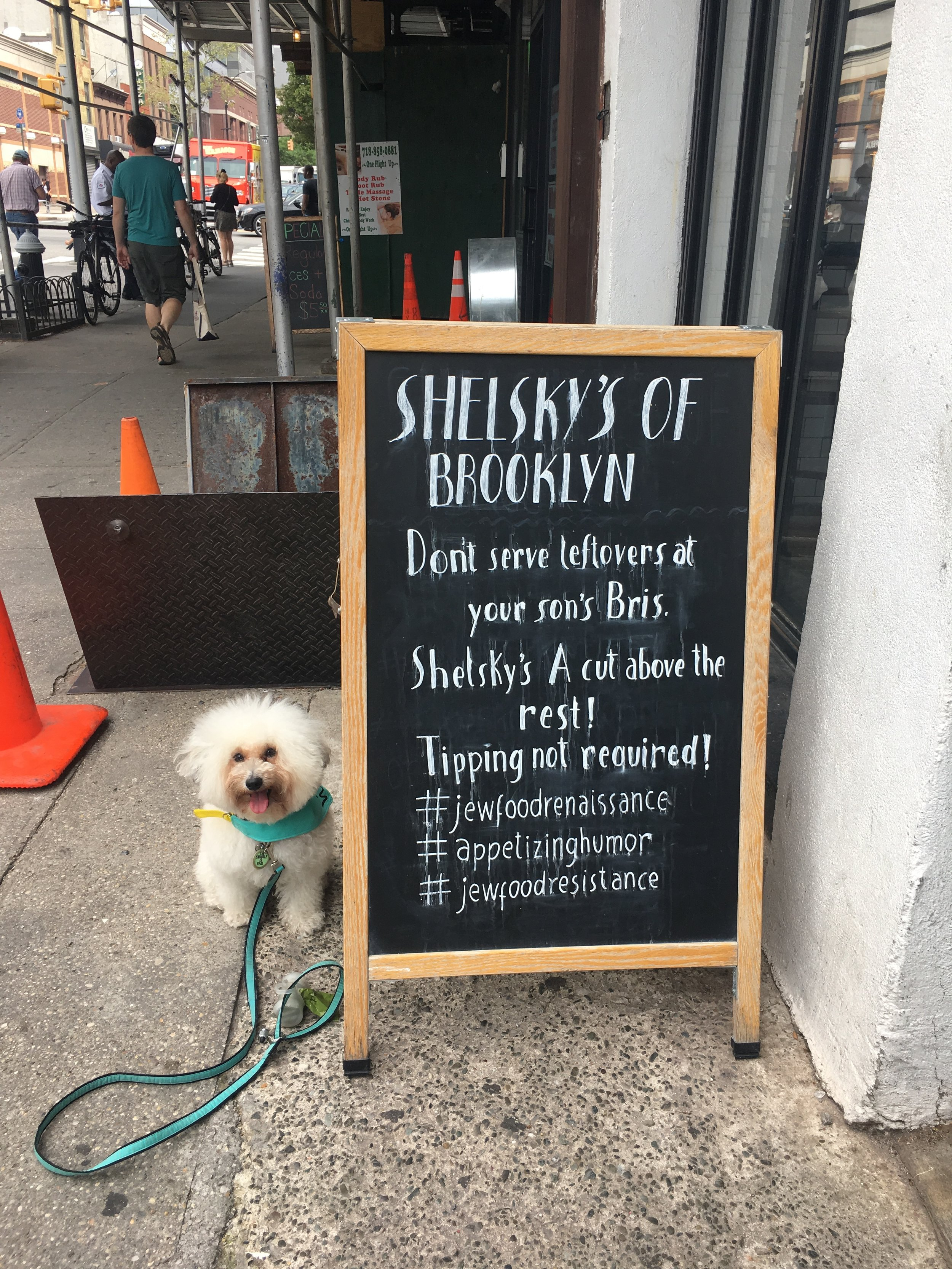 Best dog-friendly places in New York Shelsky's in Brooklyn, NY | Watson & Walls