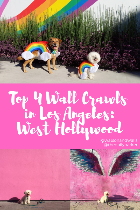 Round up of the best murals in West Hollywood, CA | Watson & Walls