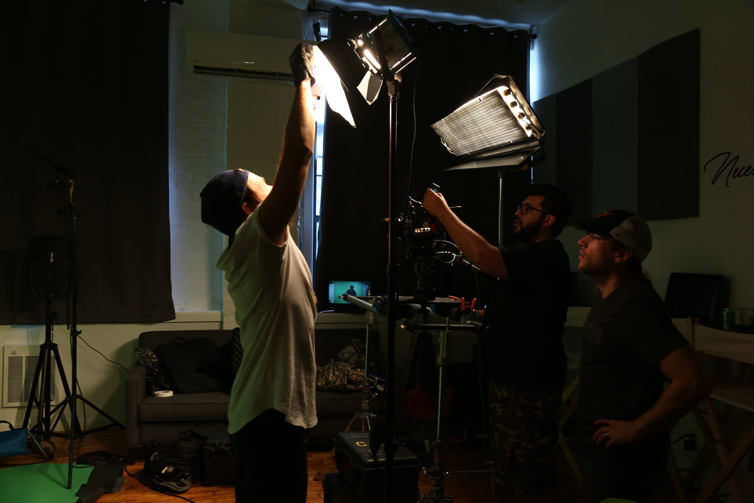 Production 101 - Starting a career in production?Need a quick overview of the essentials? Necessary Academy's course will teach you the basics of cameras, lighting, and audio (including setup procedures and how to use the equipment). By the end of the course you will have the tools you need not only to practice but become an asset on any production set, including your own!