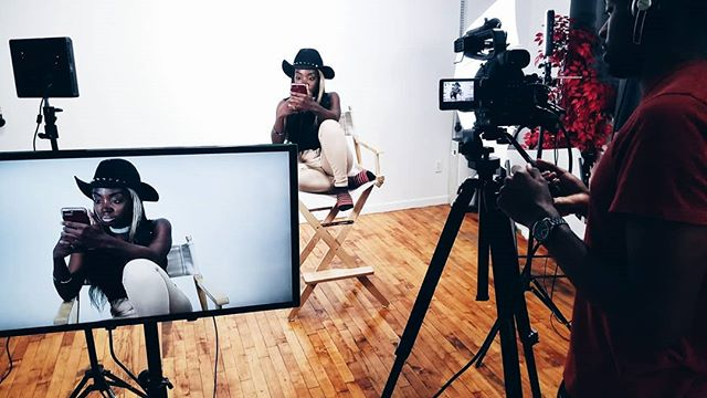 We call this photo-ception haha #inception #shotatnecessary . . .  #necessarystudios #nycstudios #photostudio #nyc  #headshots #portraits #photography  #licstudios #fashion #art  #photographer #nycphotographer #photo #coworkingspace #queensstudio #blackowned  #visuals #visualsoflife #studiolife #studio #film #setlife #sony #camera #working #filmcrew #bts