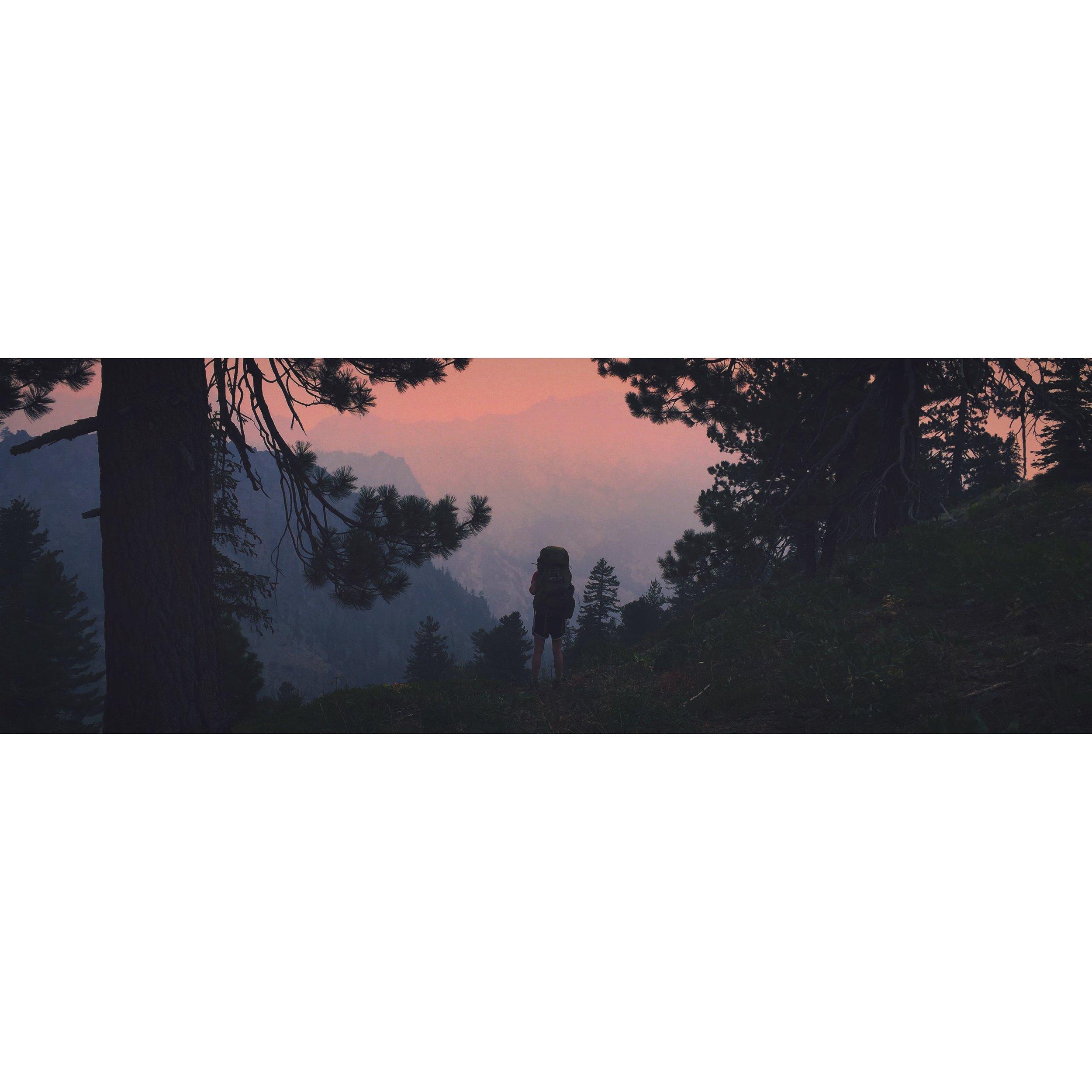 One of many smokey vista