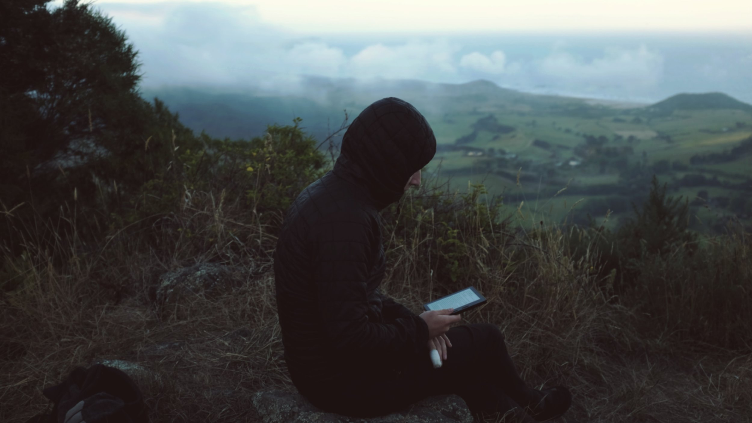 Evening reading at 1,600ft.