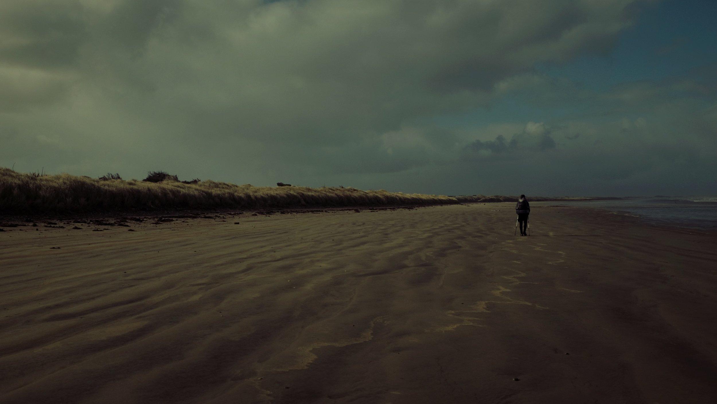 One last never-ending beach.