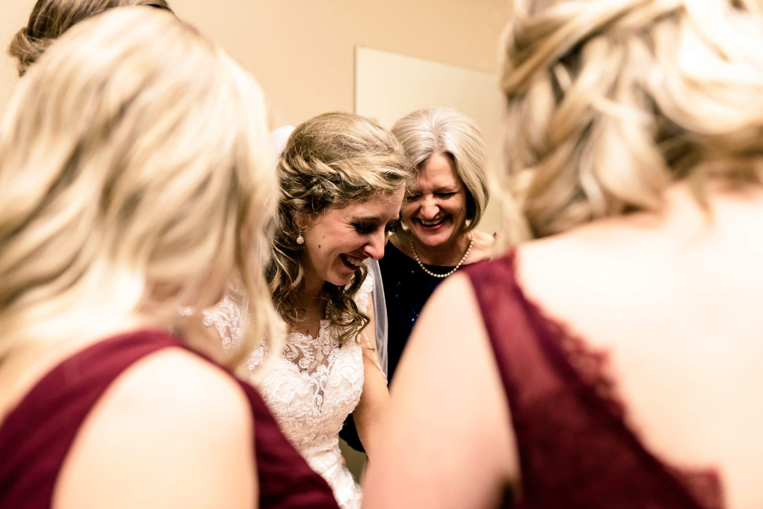 bride getting ready, intimate wedding photographer