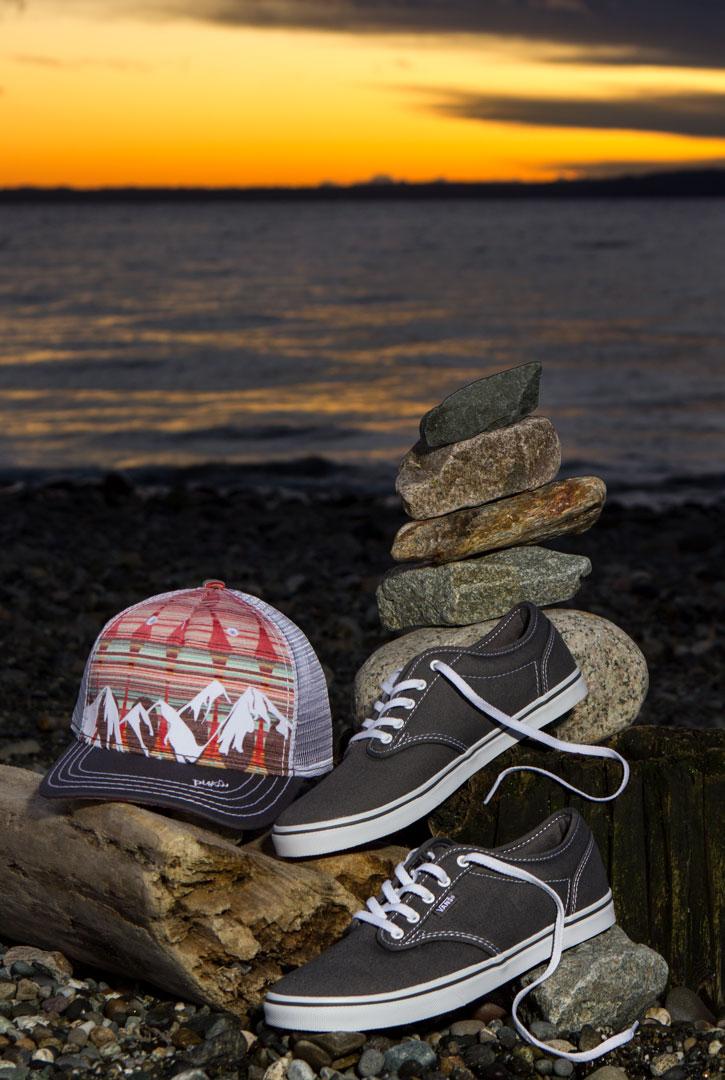 Vans Atwood Low Shoes & Pistil Designs Hat