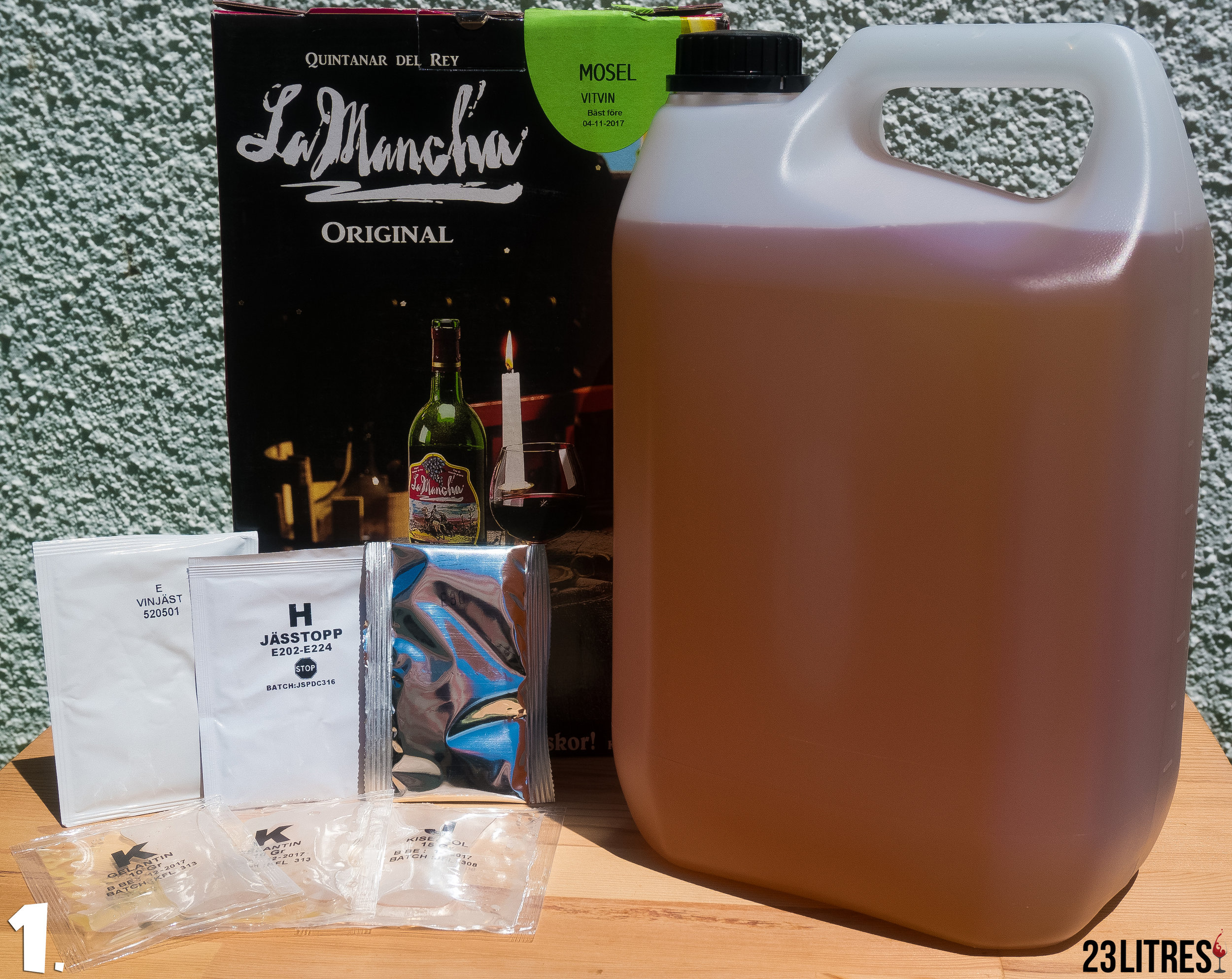 Grape Juice Concentrate Kit