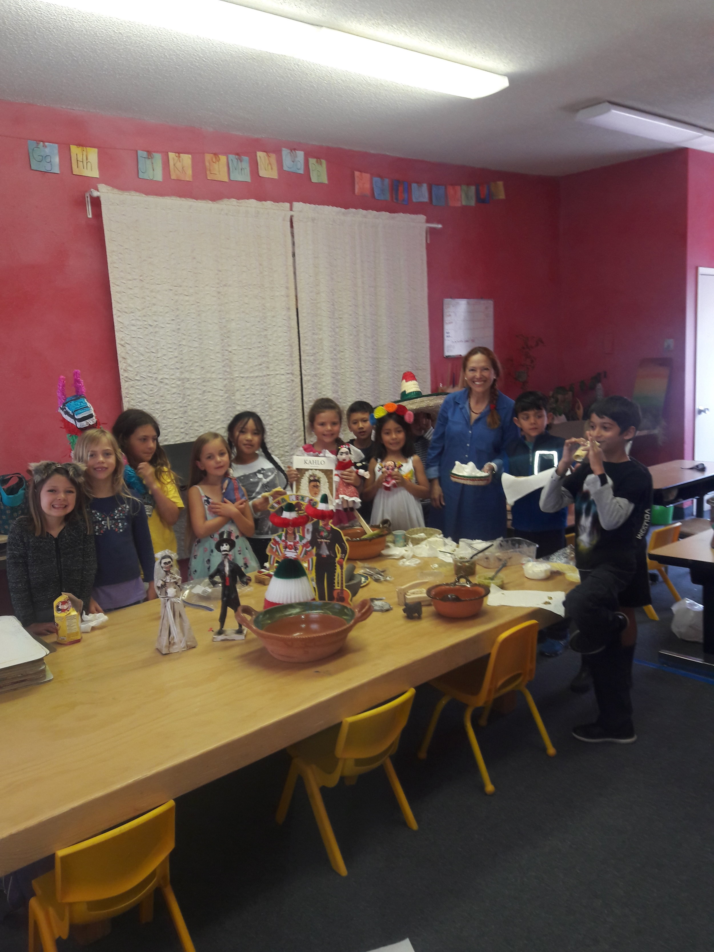 - Spanish as a World Language:1st-5th: Through games, cooking, songs, and verse, participants are introduced and exposed to cultural and linguistic aspects of the Spanish language.