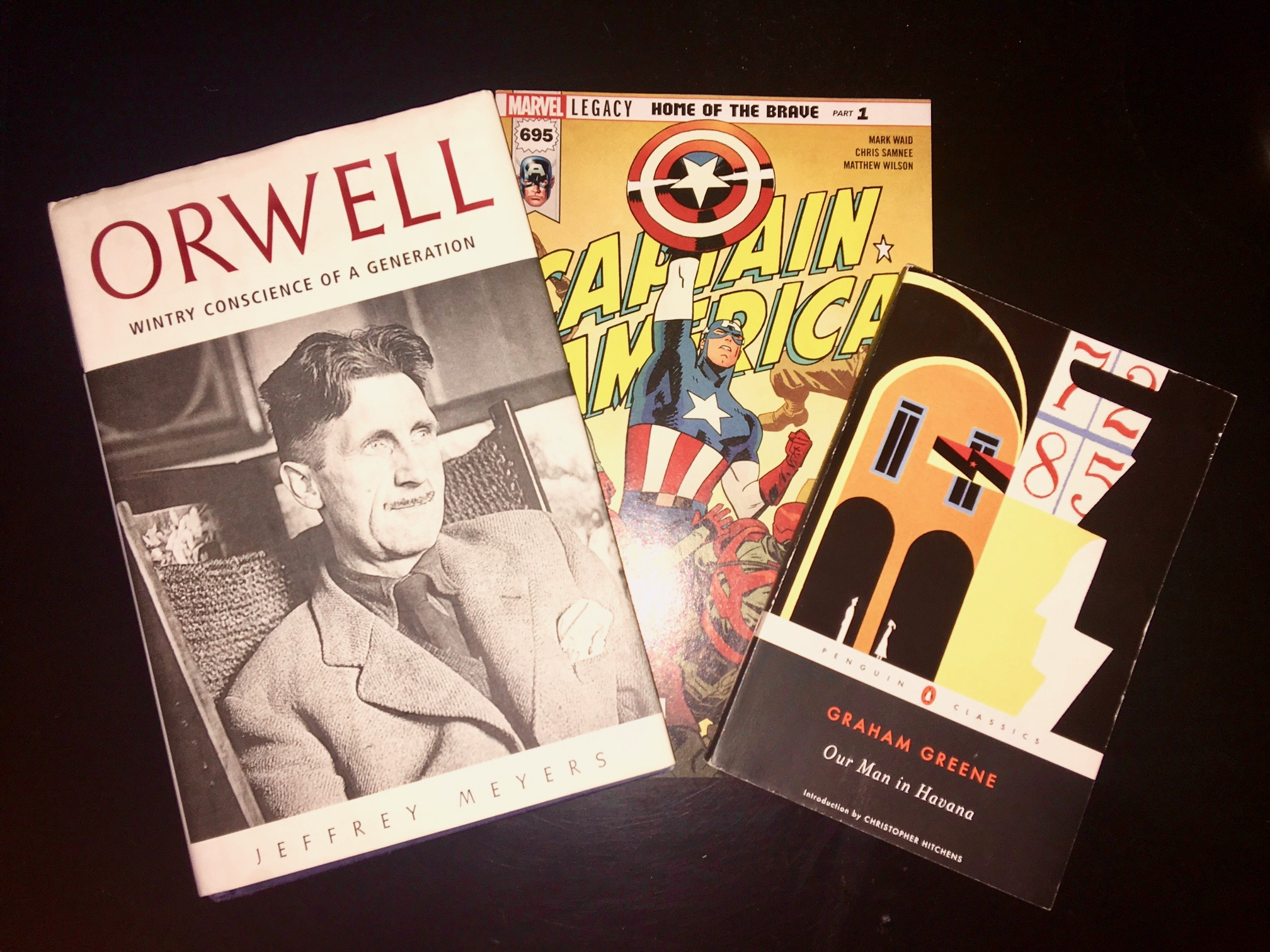 What I've Been Reading - Orwell, Our Man in Havana, Captain America #695