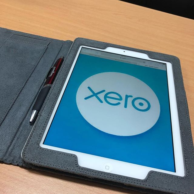 All the tools I need packed for a day of client meetings. #visionfg #visionfinancialgroup #vision #mackay #accounting #business #xero #cloud