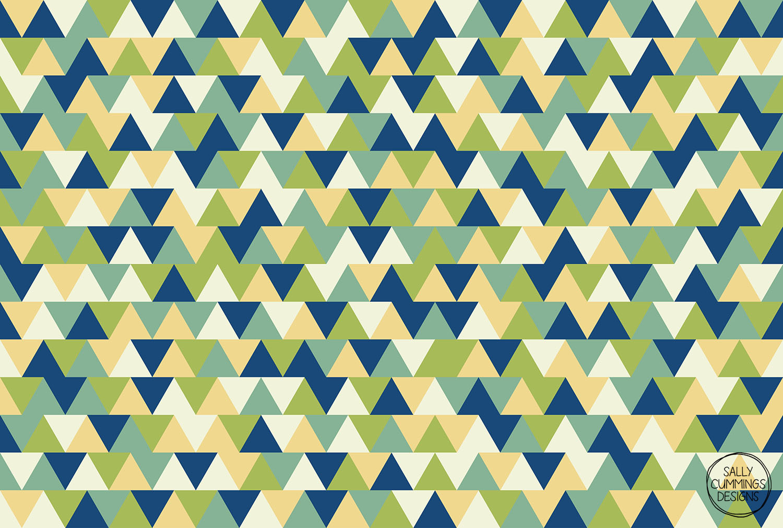 Rockpool triangles pattern