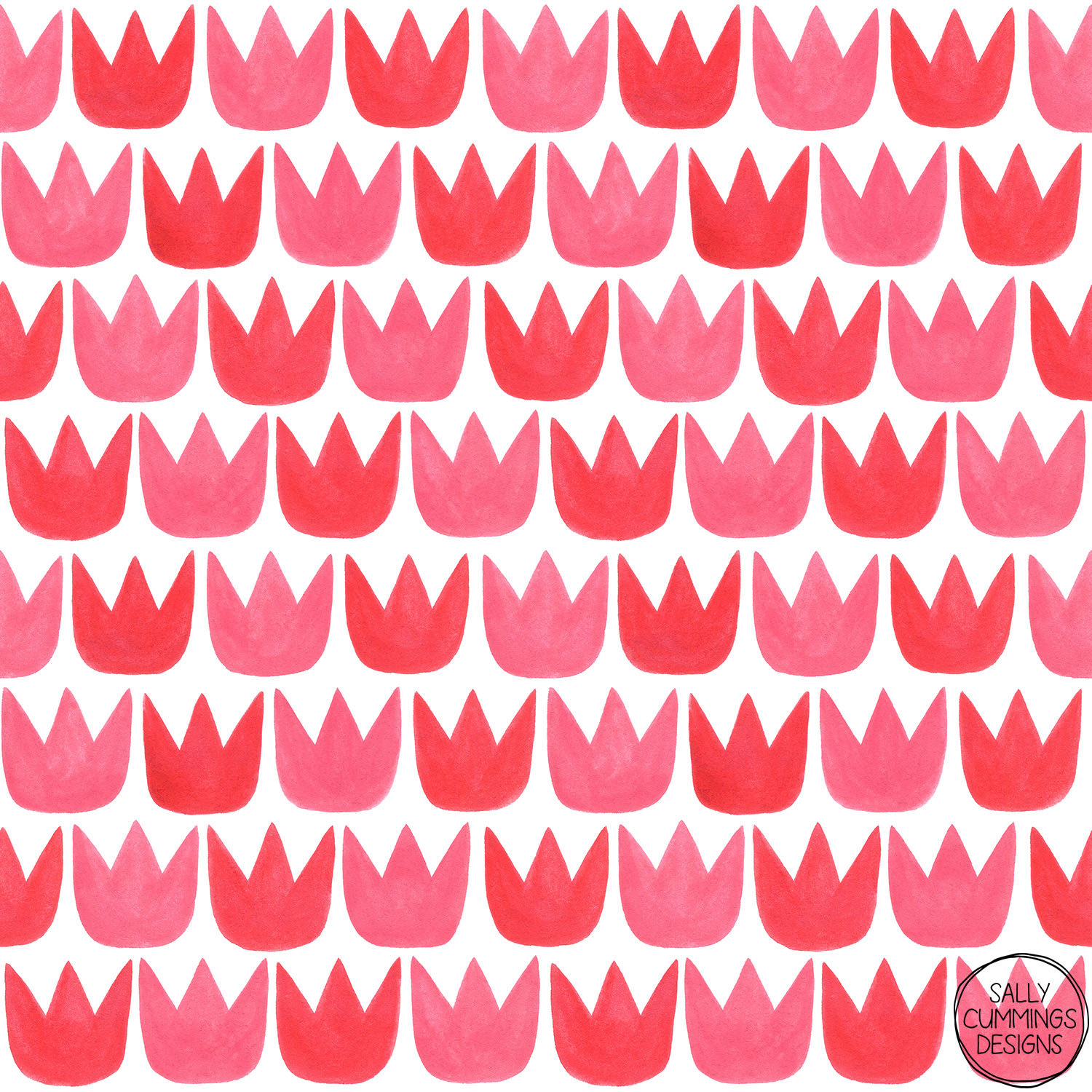 Sally Cummings Designs - Tiptoe Tulips Pattern