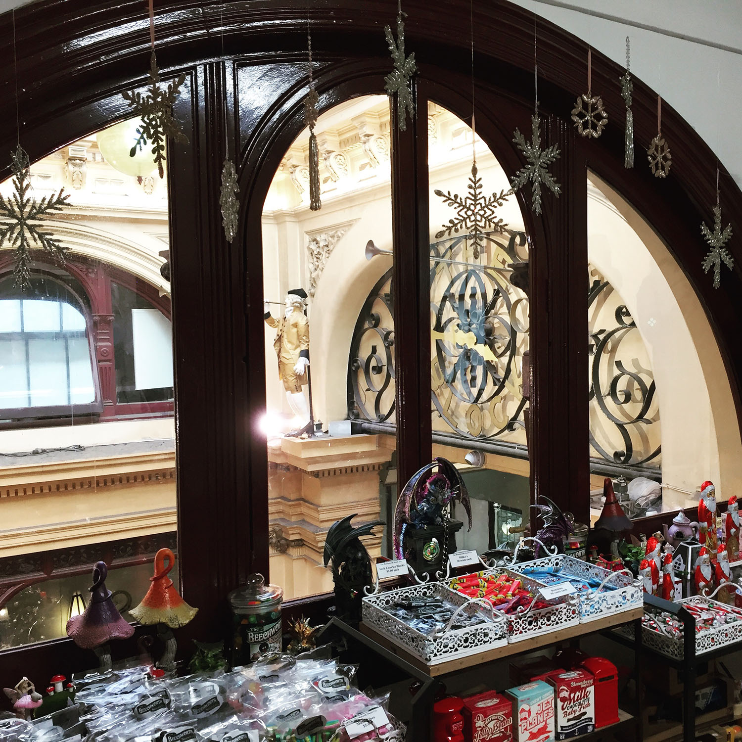 Block Arcade at Christmas time, Melbourne