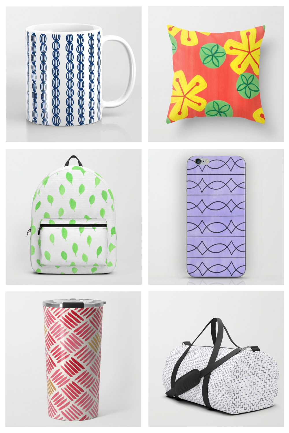 Sally Cummings Designs - Society 6 store preview, October 2018